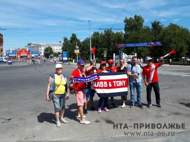 Около 355 тыс. туристов посетило Нижегородскую область вовремяЧМ