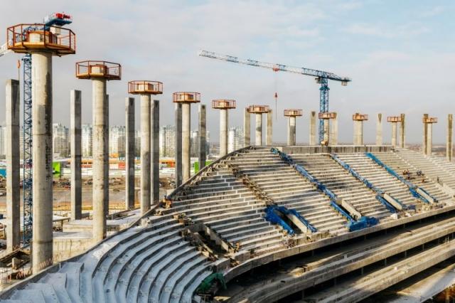 Стадион «Нижний Новгород» будет «съедать» по1 млн руб. вдень