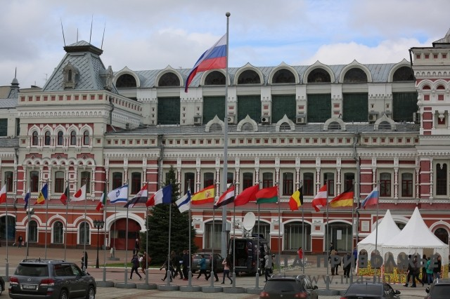 Руководство Нижегородской ярмарки рассмотрит вопрос осносе 3-х временных павильонов