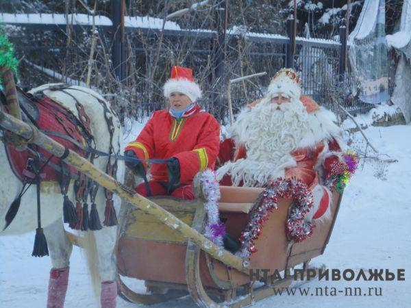 Вчесть приезда Деда Мороза вНижнем Новгороде взорвут 800 хлопушек