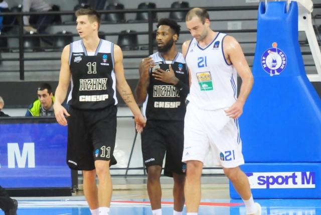 «Нижний Новгород» обыграл «Скопье» вматче баскетбольного Кубка Европы