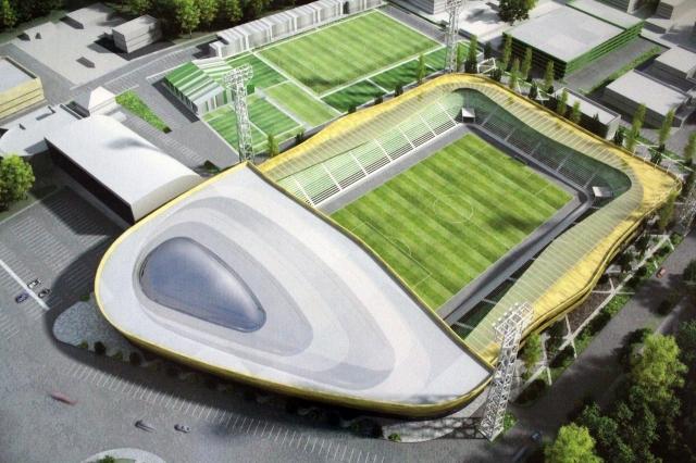 Реконструкция стадиона «Химик» вДзержинске обойдется в133 млн руб.