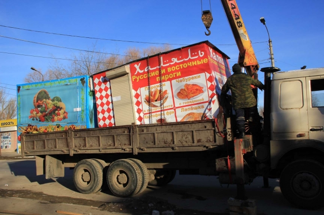 До1декабря вКанавинском районе Нижнего Новгорода демонтируют 120 ларьков