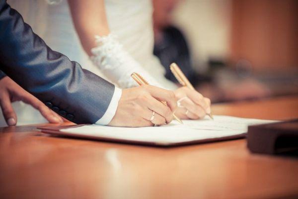 Неменее 21,5 тысячи браков зарегистрировано вНижегородской области вследующем году