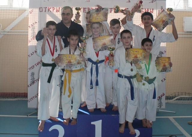 Нижегородские каратисты завоевали 5 золотых и 4 серебряные медали