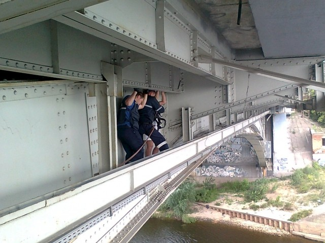 Попытка суицида произошла наКанавинском мосту утром 11августа
