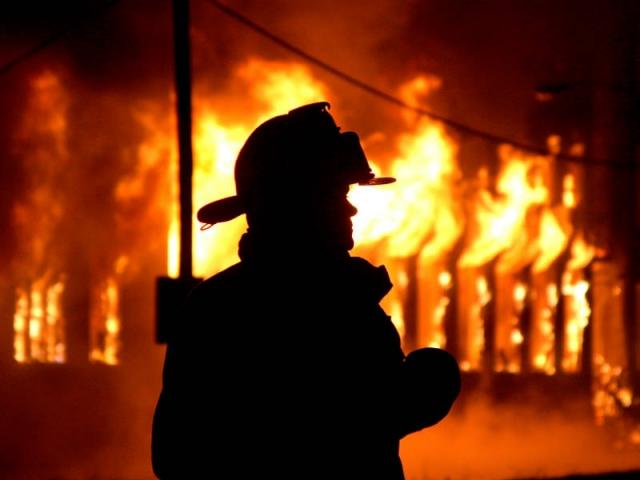 Мужчина сгорел всвоем доме вНижегородской области