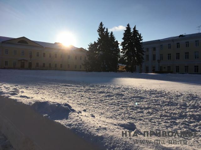 30-градусные морозы придут вНижегородскую область 26января