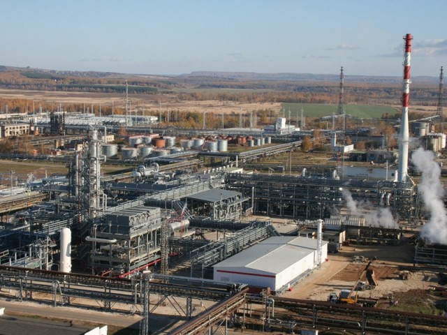 ВНижегородской области устранили открытое горение наНПЗ «Лукойла»