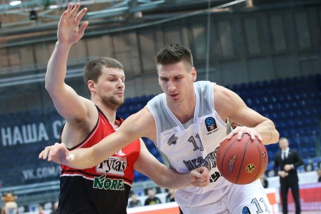 БК «Нижний Новгород» проиграл литовскому «Летувос Ритас»