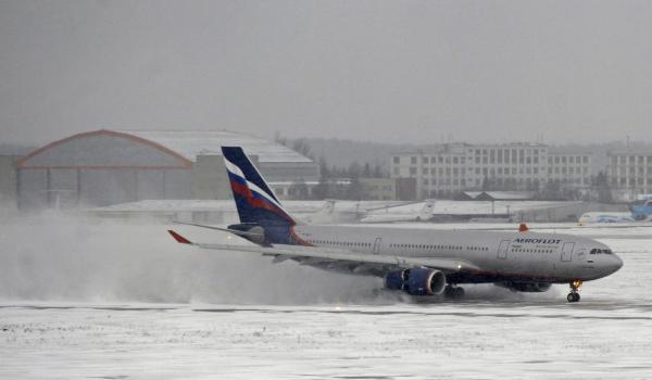 Два рейса «Аэрофлота» изПетербурга в столицуРФ отменены из-за осадков