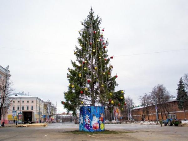 Нижний Новгород украсят кНовому году за12 млн руб.