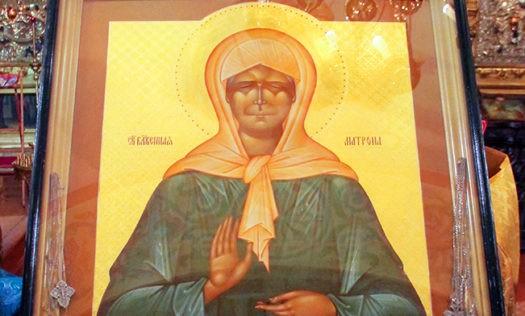 Икону Матроны Московской привезут вхрамы Нижнего иКстова