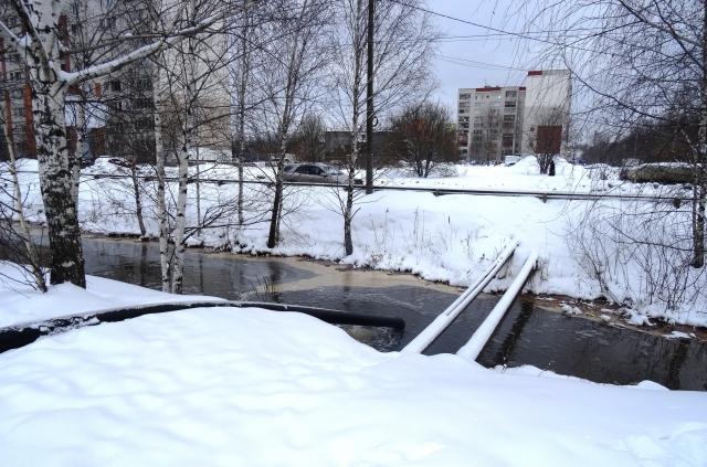 Росприроднадзор недоволен ремонтом коллектора вАвтозаводском районе