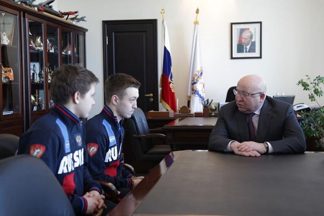Ерофеев: Строительство ФОКов дает огромную поддержку развитию хоккея смячом