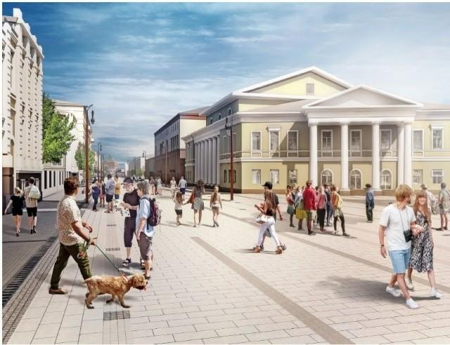 Объявлен конкурс наблагоустройство улицы огромная Покровская вНижнем Новгороде