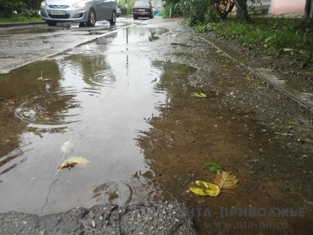 ВНижегородской области ушли под воду два автомобильных моста