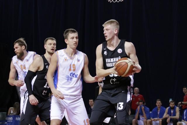 БК «Нижний Новгород» одержал победу над «Самарой» впервой игре ¼ Кубка Российской Федерации