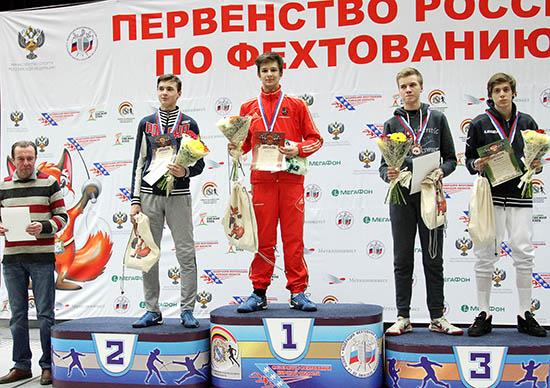 Нижегороцы завоевали «серебро» идве «бронзы» напервенстве Российской Федерации пофехтованию
