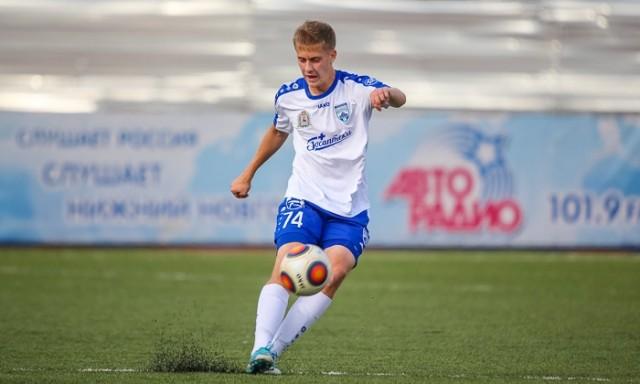 Игрок «Олимпийца» Даниил Фомин выступит замолодёжную сборную Российской Федерации
