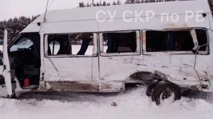 Уголовное дело возбуждено в связи с столкновением двух автобусов в Башкирии