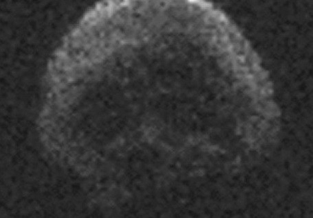 Image radar of the TB145 asteroid in 2015