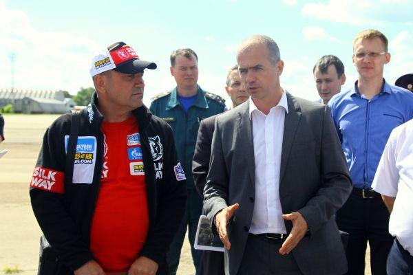 Участники интернационального ралли-рейда «Шёлковый путь» сделают остановку вЧувашии