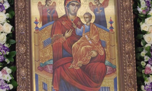 """Икона Пресвятой Богородицы """"Всецарица"""" со Святой горы Афон будет находиться в Нижнем Новгороде до 3 июня"""