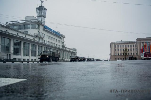 Репетиции парада в Нижнем Новгороде в мае перенесены на дневное время