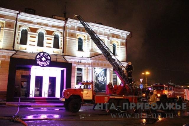 В помещении наНижне-Волжской набережной произошел пожар