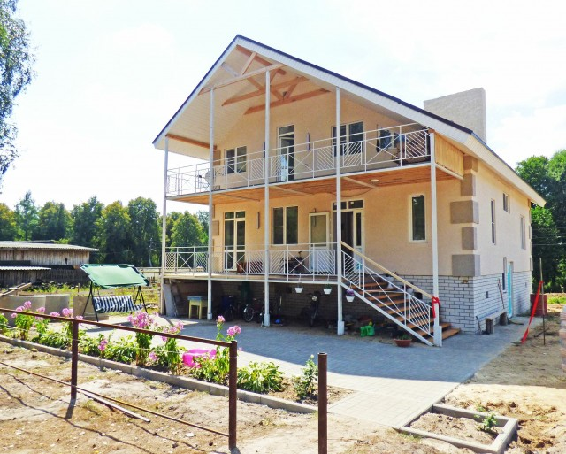 Новый дом в Вознесенском районе для многодетной семьи построен по поручению Глеба Никитина