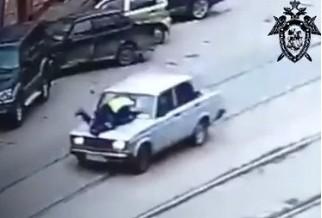Подросток на ВАЗе сбил инспектора ДПС в центре Нижнего Новгорода (ВИДЕО)