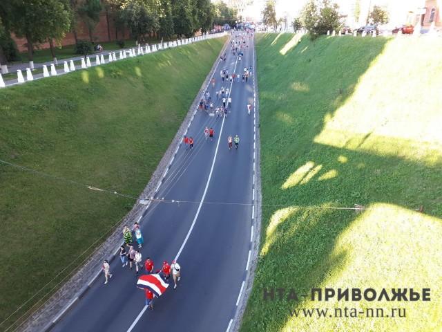 (6+) Французские болельщики пройдут маршем поНижнем Новгороду