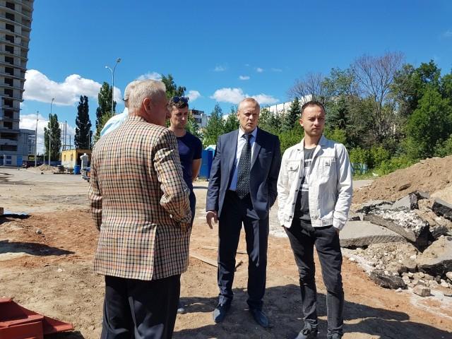 Облкомиссия проверила ход строительства трамплина К-60 в Нижнем Новгороде: ход работ и планы на будущее