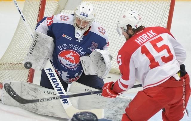 Нижегородское «Торпедо» провело матч вдень своего юбилея