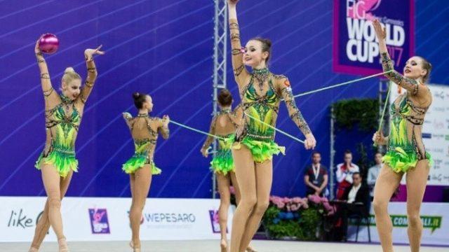 Выступающая заПензу гимнастка завоевала 4 медали вПортугалии