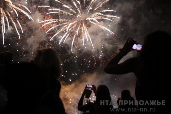Фейерверк запустят наплощади Горького в 01:00 1января