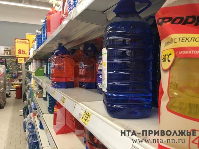 Предприниматель изДзержинска пытался реализовать нижегородцам 120 тонн ядовитой незамерзайки