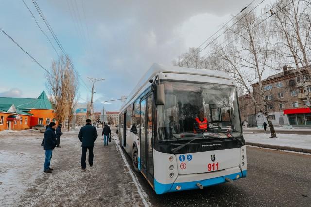 Маршрут троллейбуса №100 между Чебоксарами и Новочебоксарском продлят с 27 января