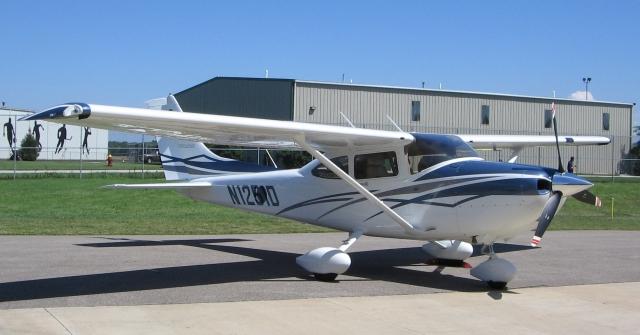 Вынужденную посадку внижегородском аэропорту совершил самолет марки Cessna 182Т