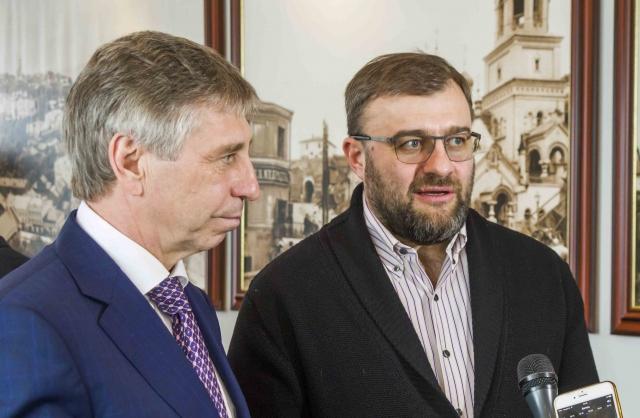 Артист Михаил Пореченков предложил провести вНижнем Новгороде большой кинофестиваль