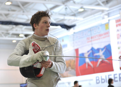Нижегородский рапирист Алексей Чуев завоевал серебро наПервенстве РФ среди юниоров