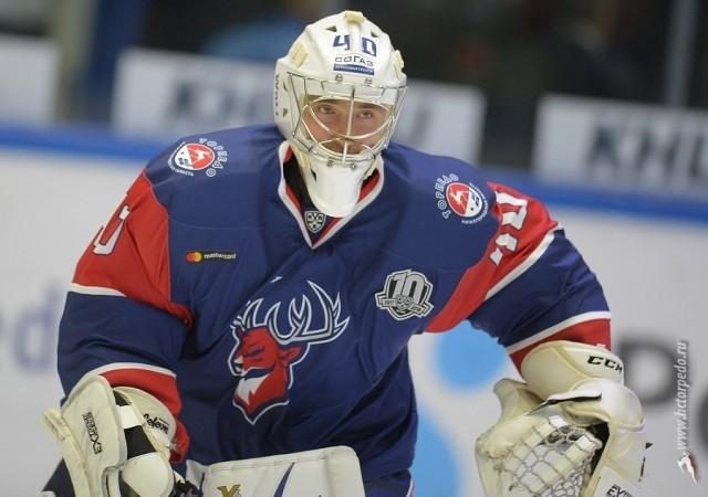 Игрок СКА Игорь Шестёркин— лучший вратарь недели вКХЛ