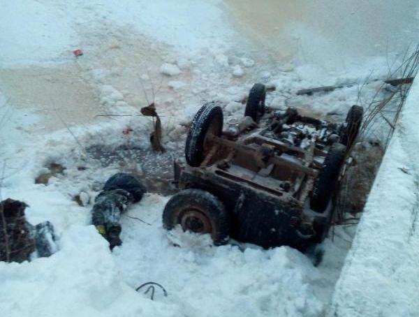 Автомобиль вылетел смоста вНижегородской области умер ребенок