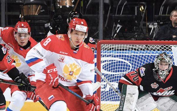 Молодежная сборная РФ вырвала победу уКанады OHL, уРубцова дубль