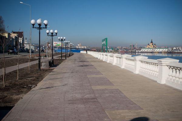Вадминистрации областного центра высказались попроекту благоустройства Нижне-Волжской набережной